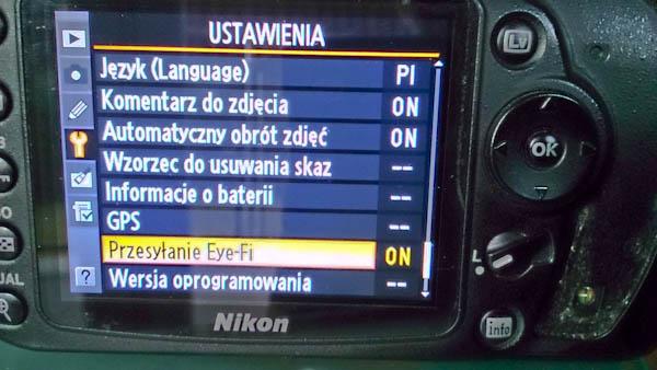 Nikon D90 Eye-Fi